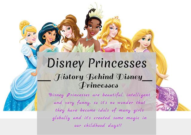 Disney Princess Art and Culture