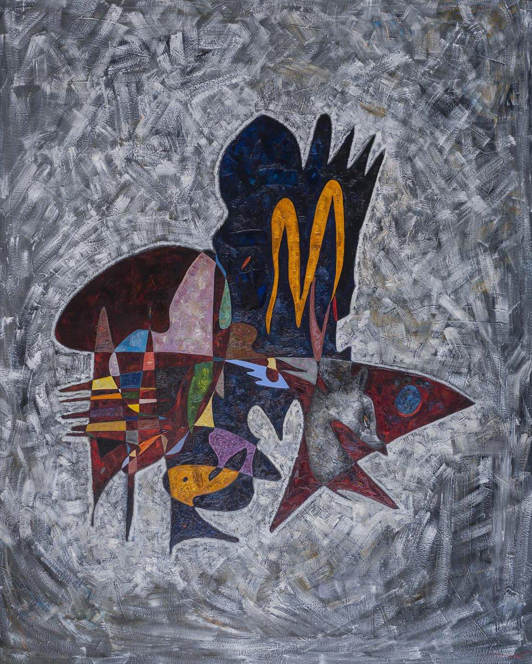 Hunter Painting