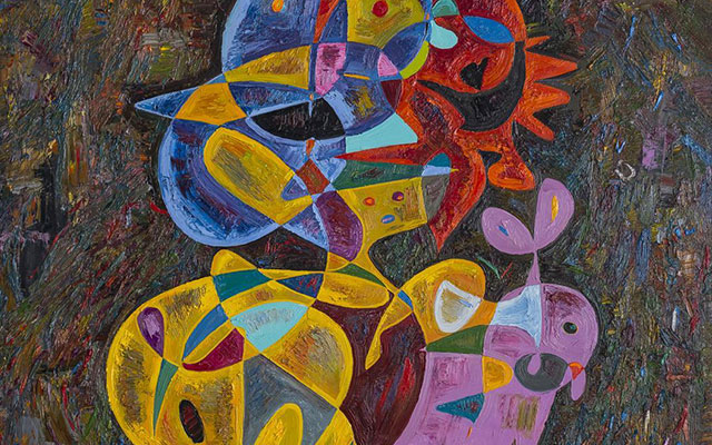 Best contemporary abstract paintings