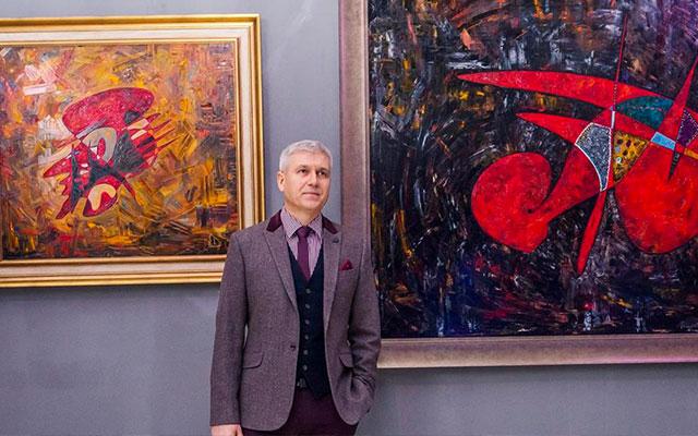 Gheorghe Virtosu artist abstract art