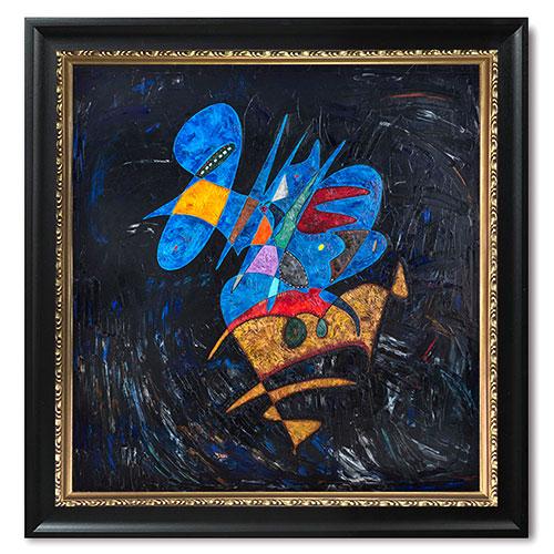 Abstract Painting Reflecting