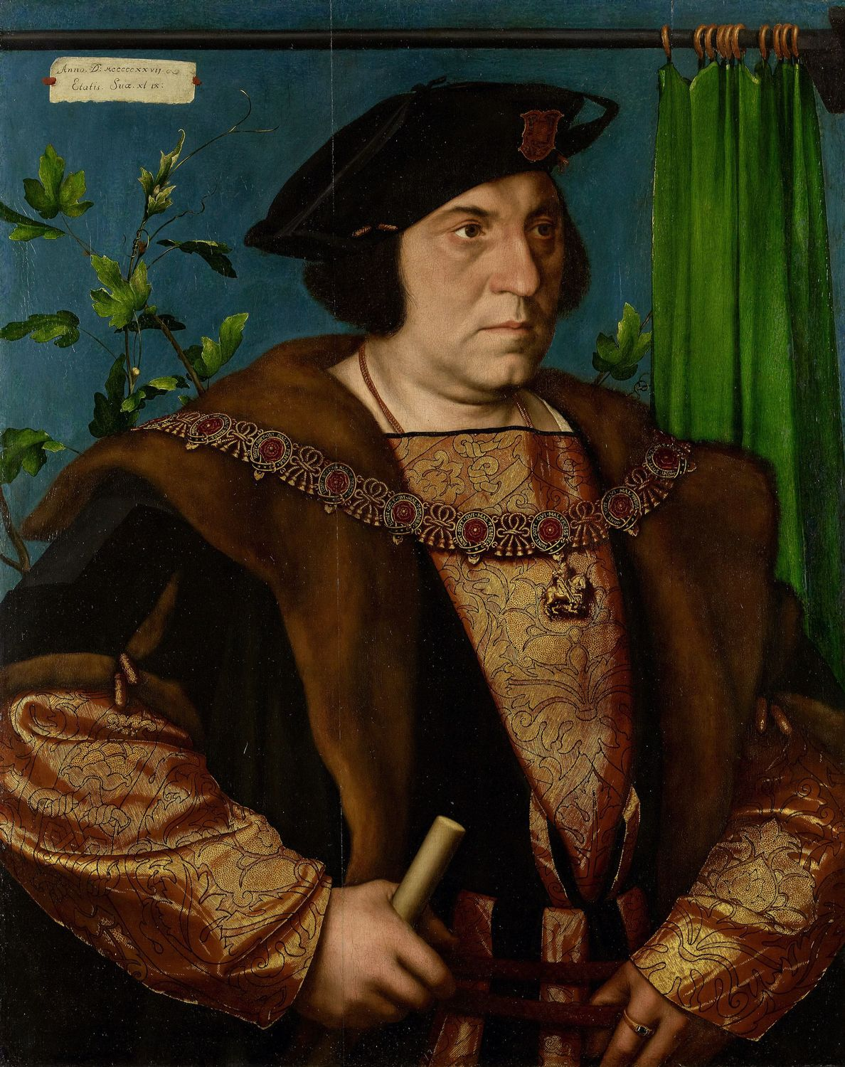Hans Holbein the Younger (1497/8-1543) - Sir Henry Guildford (1489-1532)