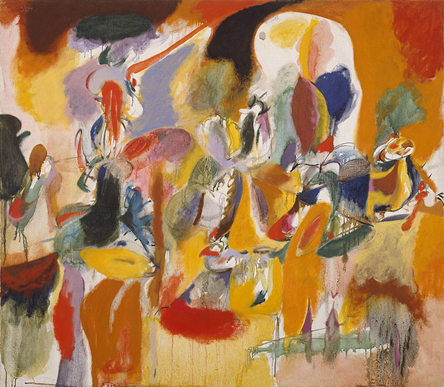 Arshile Gorky famous abstract artist Orphism