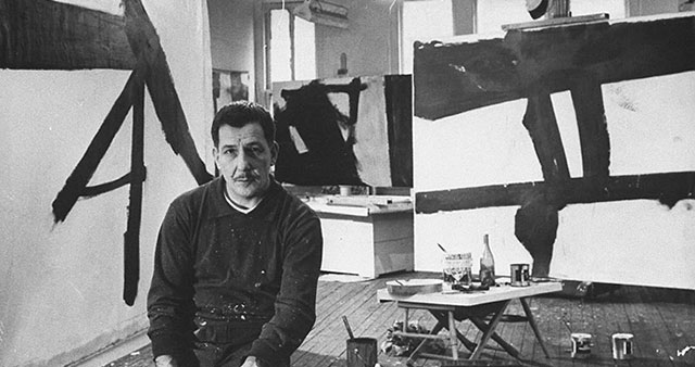 Franz Kline  abstract artist
