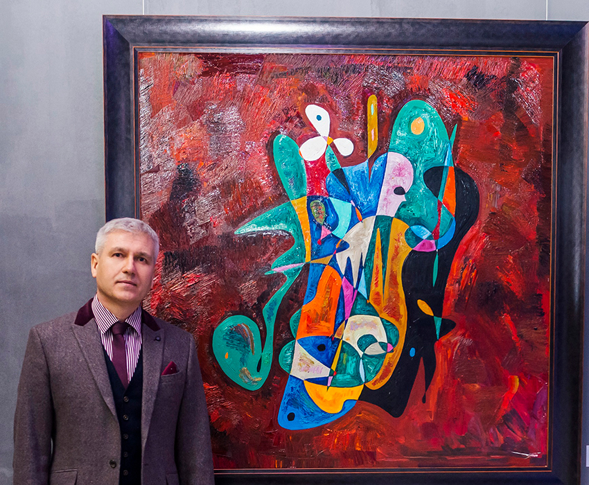 Gheorghe Virtosu abstract artist