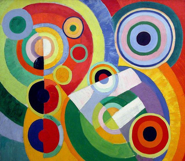 Robert Delaunay abstract origin