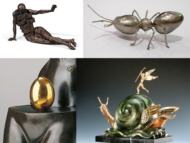 Dalí Melting Clocks, Dalí Ants, Dalí Eggs, Dalí Crutches, Dalí Elephants, Dalí Drawers, Dalí Snails