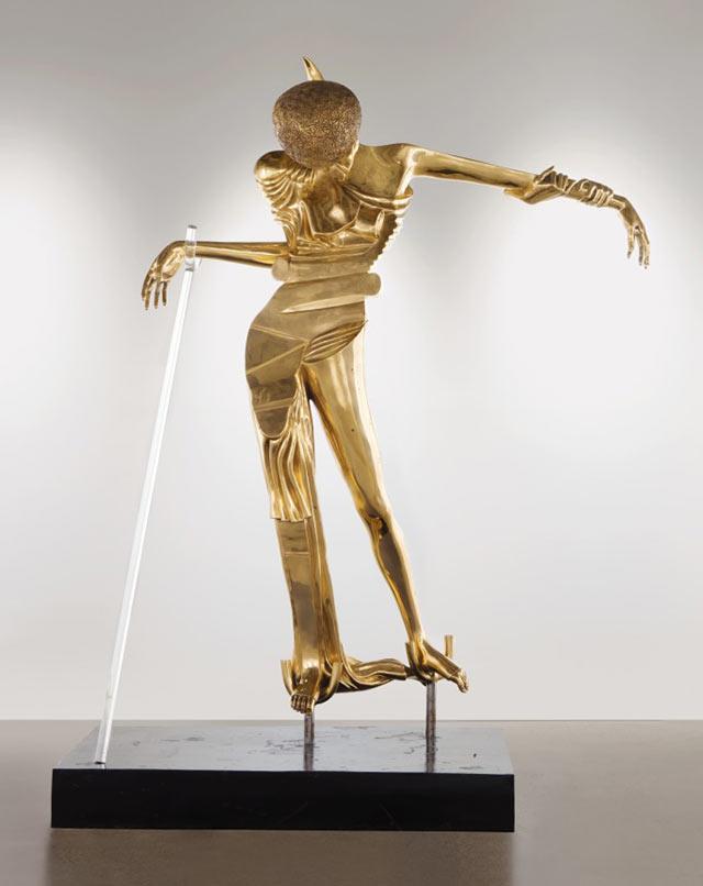 Salvador Dalí, Femme à la tête de roses, conceived in 1981, cast in 1987