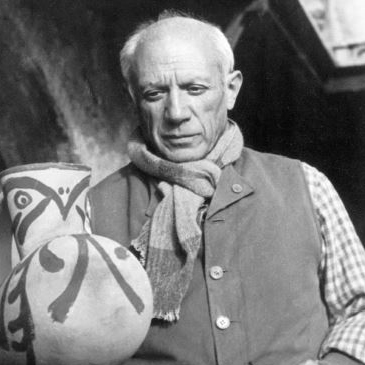 Pablo Picasso abstract art stars