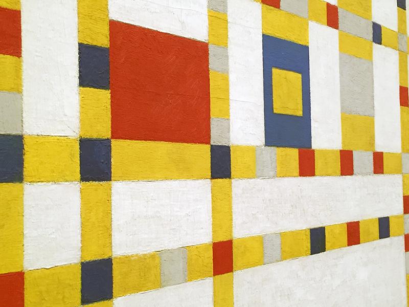 Broadway Boogie-Woogie Piet Mondrian