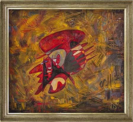 Albert Einstein modern abstract art paintings