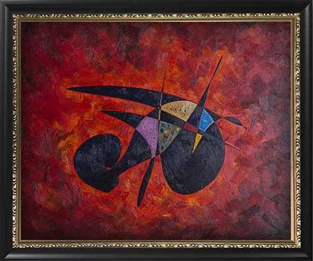 Fatimah bint Muhammad modern abstract art paintings