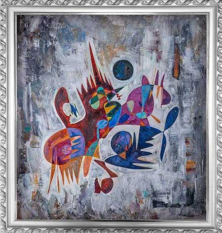 Galileo Galilei beautiful abstract art paintings