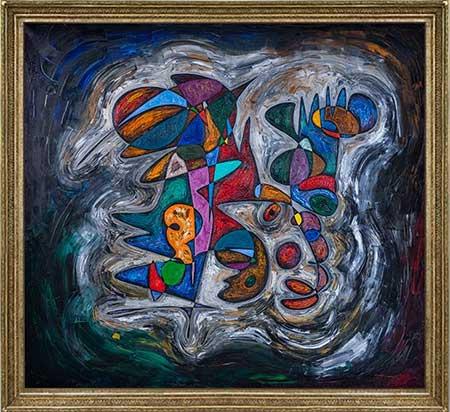 Isaac Newton beautiful abstract art paintings