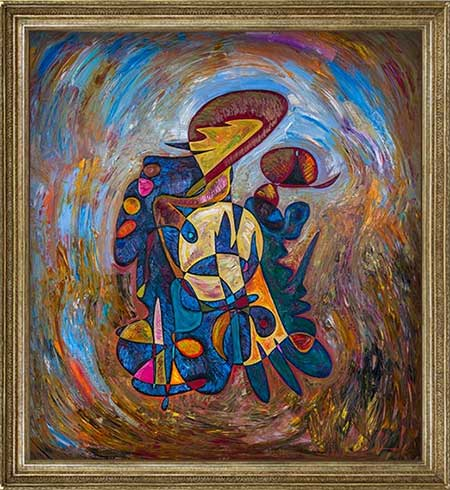 Mozart beautiful abstract art paintings