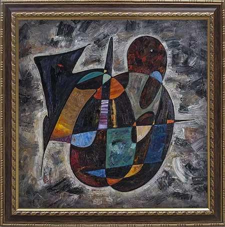 Nostradamus abstract art paintings