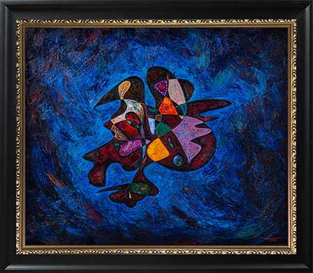 Rosa Parks beautiful abstract art paintings