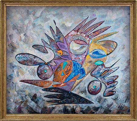 Theodore Roosevelt beautiful abstract art paintings