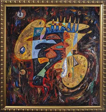 Winston Churchill beautiful abstract art paintings