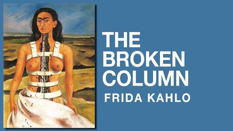 the broken column frida kahlo