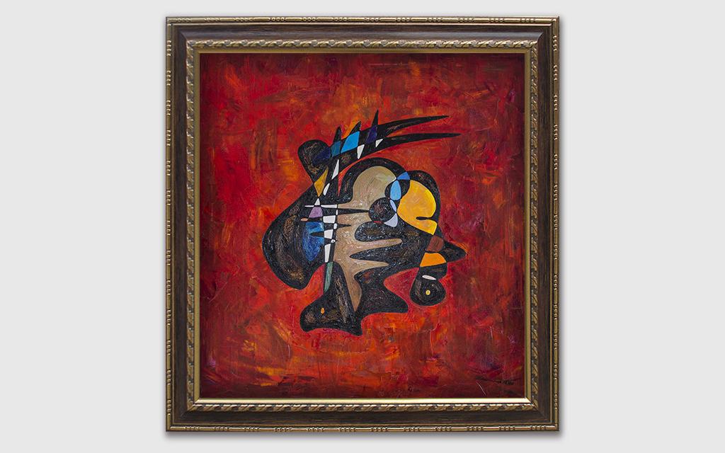 Female Samurai Warrior oil painting | Criticism