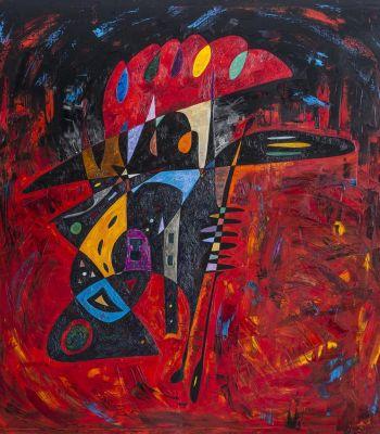 Travestite | Oil Painting